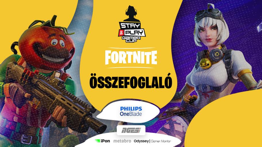 Stay & Play Gamer Fortnite Cup összefoglaló: győzött a papírforma?! 1