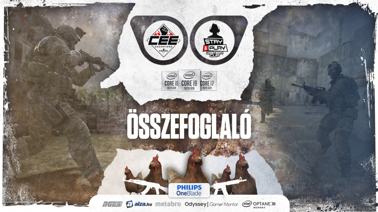 A Budapest Five nyerte a Stay&Play Gamer Cup CS:GO versenyét!