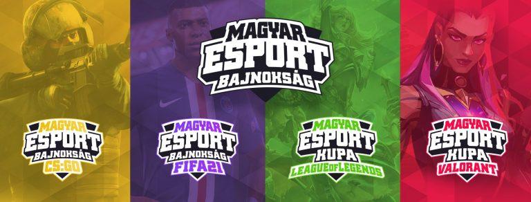 Egészen hihetetlen, 10 millió forintos összdíjazással rajtol a Magyar Esport Bajnokság!