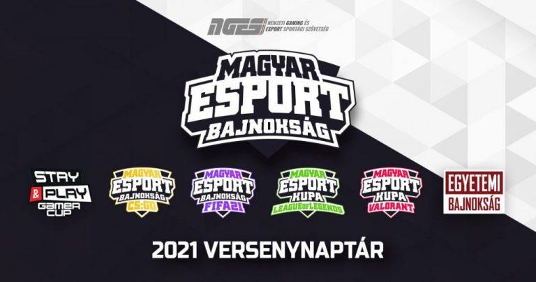 2021-ben is rengeteg, magas pénzdíjazású e-sport versennyel készül a magyar játékosoknak az NGES!
