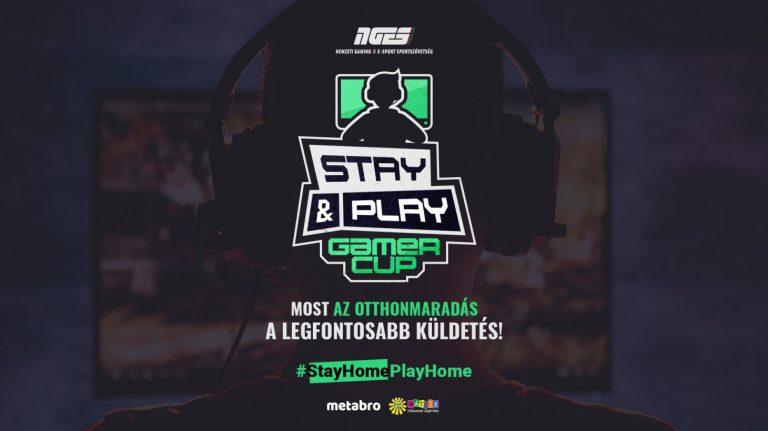 Jön az NGES Stay & Play Gamer Cup, ahol egyszerre nyerhetsz és segíthetsz a szegény gyermekeknek!