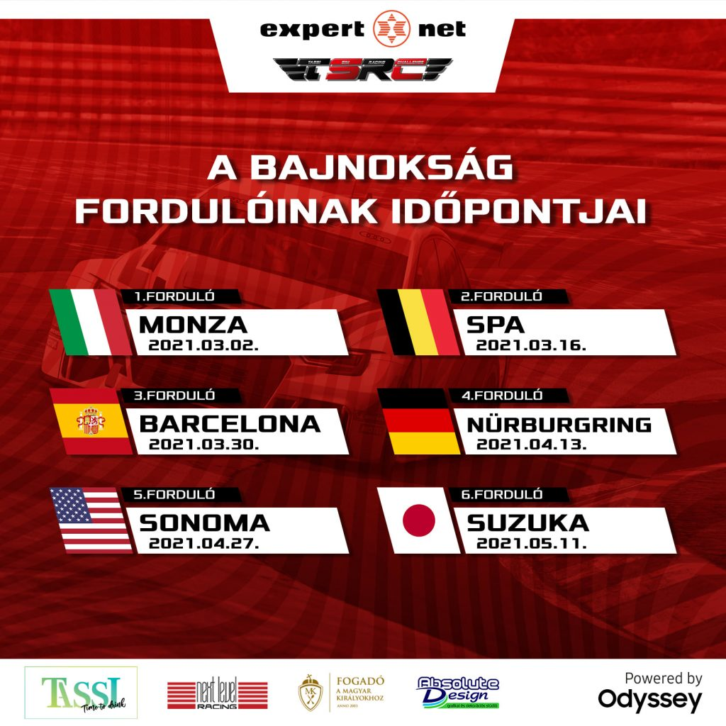 Az NGES és a Samsung támogatásával indul Magyarország legújabb iRacing bajnoksága! 5
