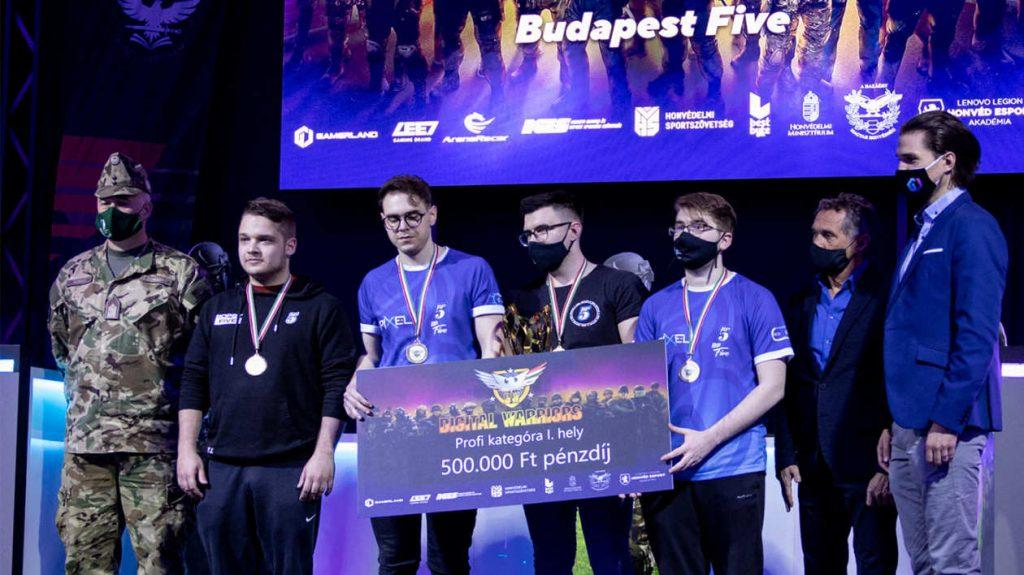 Budpest Five win